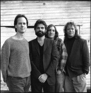 "My Mojave Desert Ceilidh Band v2.0: [L to R] John ""Jughead"" MacAdams, DNL, Dave Soyars née Beltanovich, Brandon ""Straitjacket"" Curtis"
