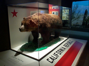 Monarch, the last California grizzley bear