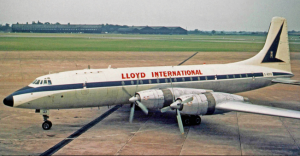 DNL denies that his family owned their own airlines. The Bristol Britannia on which he and his mother left Kenya had copper engine cowlings and was part of BOAC's fleet.