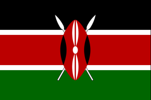 Flag of the Republic of Kenya